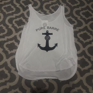 NWT Pure Barre Anchor tank